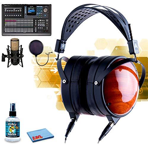 - Audeze?LCD-XC Planar Magnetic Headphones (Lambskin Leather) AKG P420 Studio Condenser Microphone 6