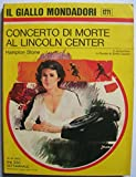 img - for Concerto di morte al Lincoln Center book / textbook / text book