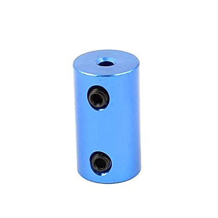 uxcell 3mm to 6mm Aluminium Alloy Motor DIY Shaft Coupling Joint Connector