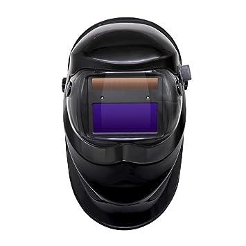 KOBWA - Casco de soldadura solar con oscurecimiento automático, rango de sombra ajustable 4/