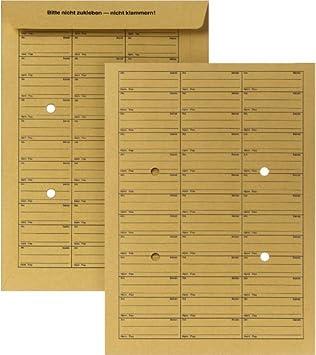 250 Hauspost Versandtaschen B4 ungummiert braun 110g//m² Hausposttaschen 155