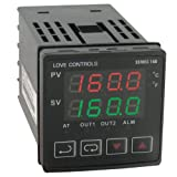 Dwyer Love Series 16B 1/16 DIN Temperature and Process Controller, Voltage Pulse Output 1 and Relay Output 2