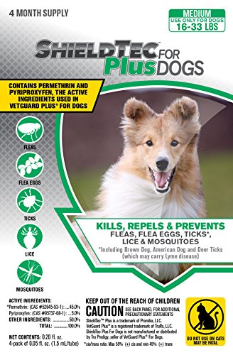 shieldtech-medium-dog-16-33-lbs-pet-protection-pests-bites-infestation-larvae-lice-mosquito-flea-tic