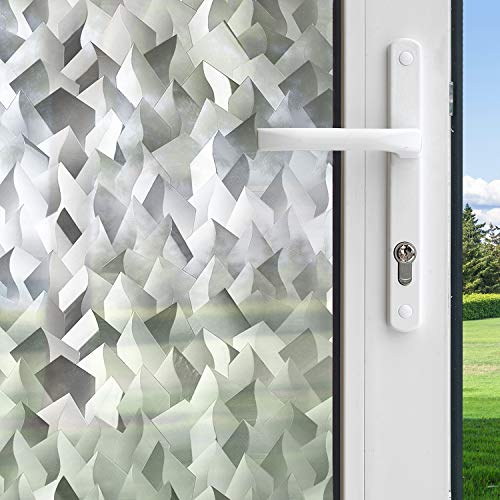 Gila 50146390 Decorative Crystal Residential DIY Static Cling No Glue No Adhesive 3ft x 6.5ft (36in x 78in) (19.5 sq ft) Window Film, 36