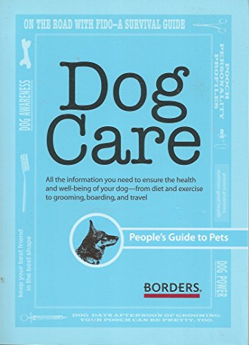 Dog Care (People's Guide) by Borders