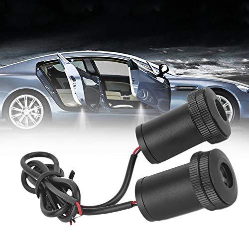 Ningbao951 2X Car Auto LED Proyector Proyector Bienvenido Sombra ...