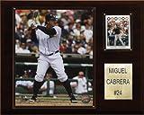 MLB Miguel Cabrera Detroit Tigers Player Plaque