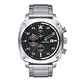 AIMANT Men's Watch Dakar Silver with Silver Stainless Steel Bracelet GDA-230SS-1S