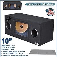 10 Bandpass Ported tube subwoofer enclosure speaker box sub box Ground-shaker