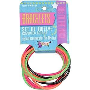 - 51t6UNZ7iNL - 80's Bracelet Set