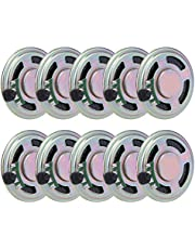 10pcs Mini DIY Speaker 0.5W DIY Speaker 40mm Round Shape Replacement Loudspeaker Accessories