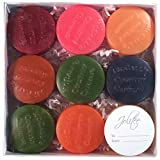 McCall's Scented Wax Candles Buttons Sampler, 9 Pieces- Fall Fun