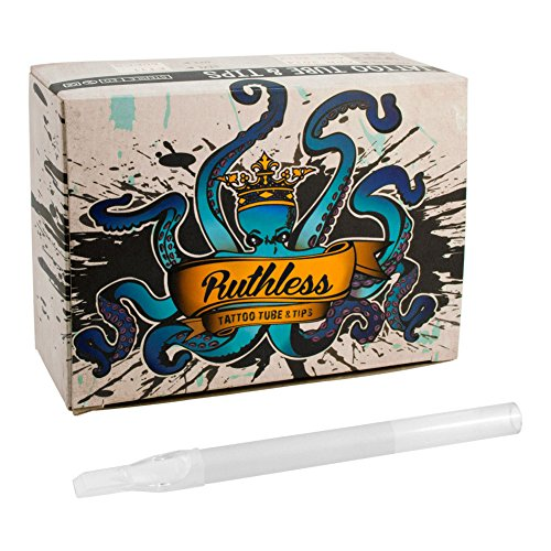(Ruthless Disposable Tattoo Tube and Tip 5F 50 Box)
