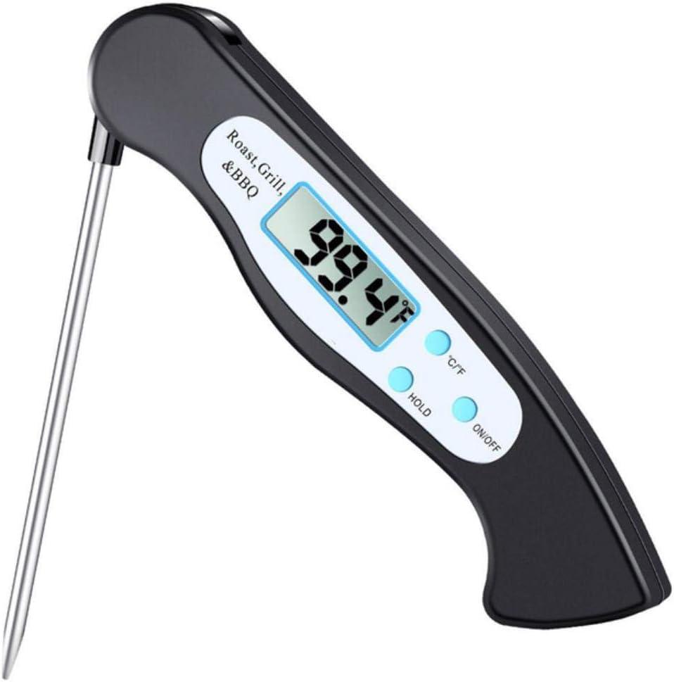 OOPP Plegable muestras termómetro para Alimentos Digitales Barbacoa Calidad de la Carne cocinar termómetro para medir la Temperatura del Aceite del Agua en el Estado líquido