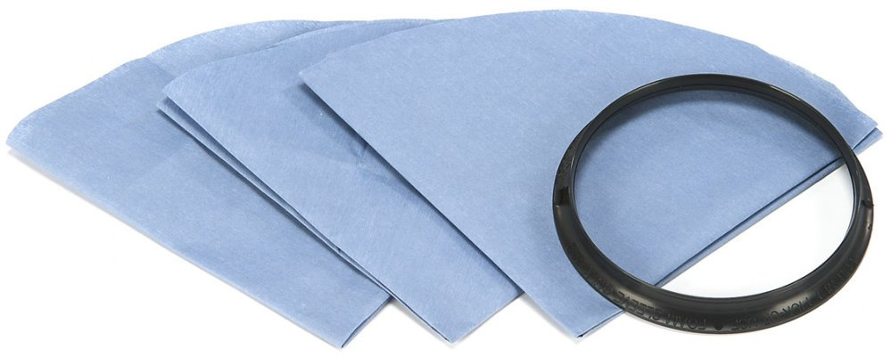 Shop-Vac Corp 3Pk Reuse Dry Filt Disc 90107-19 Wet//Dry Vac Filters /& Bags