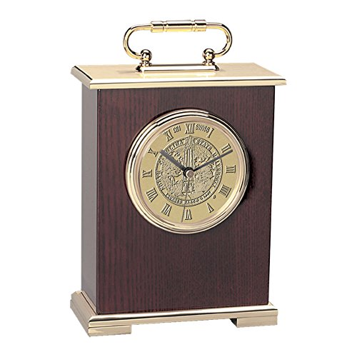 NCAA North Carolina State Wolfpack Adult Le Grande Carriage Clock, One Size, Gold