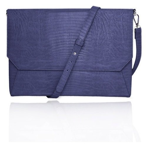 """UPC 818993010339, Women In Business Francine Collection - Laptop Sleeve for 11"""" MacBook Air (Blue)"""