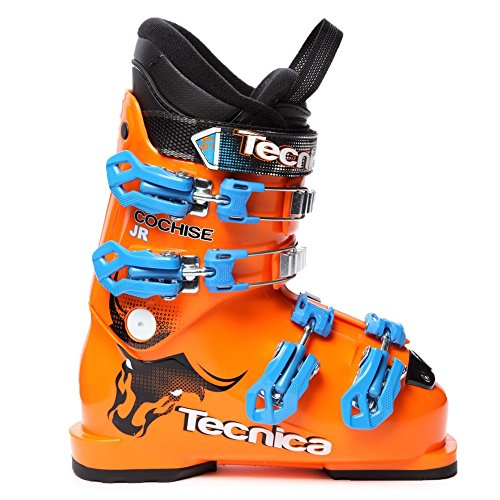 Tecnica 30129000051 Junior Cochise Skiboots,Orange,24.5 ()