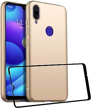 UCMDA Funda Xiaomi Redmi Note 7/ Note 7 Pro con Protector de Pantalla, Carcasa Duro Redmi Note 7/ Redmi Note 7 Pro con Cristal Templado: Amazon.es: Electrónica