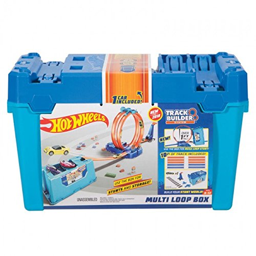 Price comparison product image Hot Wheels Track Builder Multi Loop Box Playset