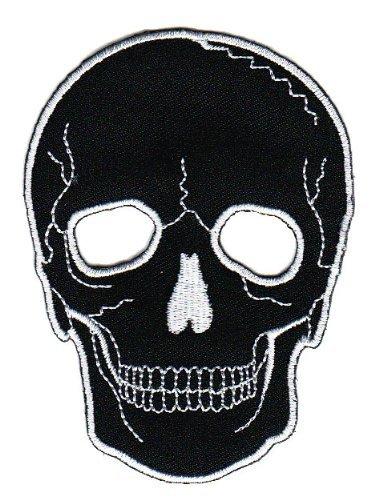 Totenkopf Skull Aufnä her Bü gelbild Aufbü gler Iron on Patches Applikation Bestellmich