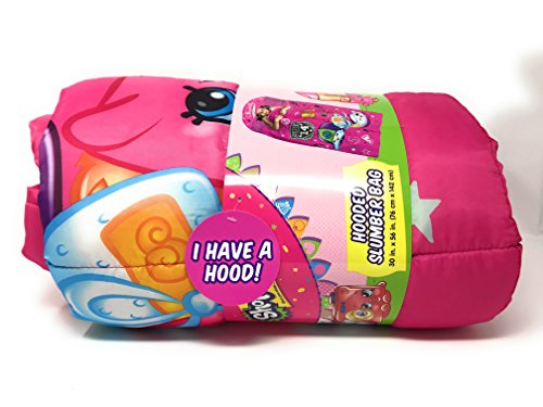 Shopkins Hooded Sleeping Bag Sack with Hood (Homemade Ariel Costume)