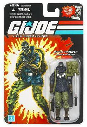 G.I. Joe 25th Anniversary Wave 8 - Arctic Trooper Snake Eyes Action Figure -