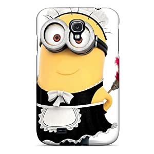 Defender Cases With Nice Appearance (cute Minion) For Galaxy S4