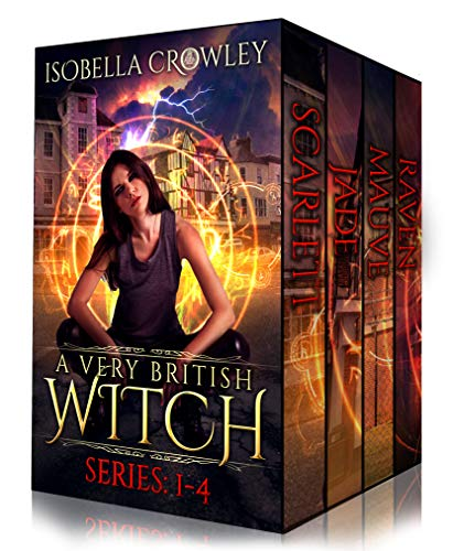 4-in-1 BOXED SET ALERT! Think Vampire Diaries meets Murder She Wrote. Brilliant humor, specially designed for the avid Anglophile: A Very British Witch Boxed Set (Books 1-4) by Isobella Crowley
