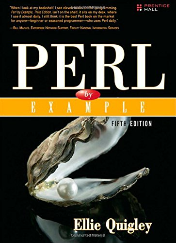 Perl by Example (5th Edition) by Prentice Hall