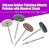 Swpeet 52Pcs Polishing Wheels Kit, 40Pcs 4 Colors