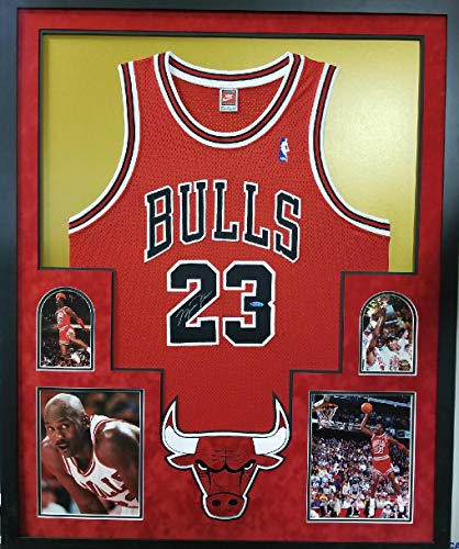 Michael Jordan Chicago Bulls Signed Autographe Authentic Final Season Limited Edition Custom FRAMED Jersey Upper Deck Certified - Authentic Jordan Michael Jersey