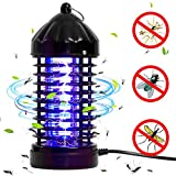 WELOVE Mosquito Killer Bug Zapper USB Powered Non-toxic UV LED Insect Fly Killer, Electronic Mosquito Trap Lamp Indoor Outdoor (Black 2)
