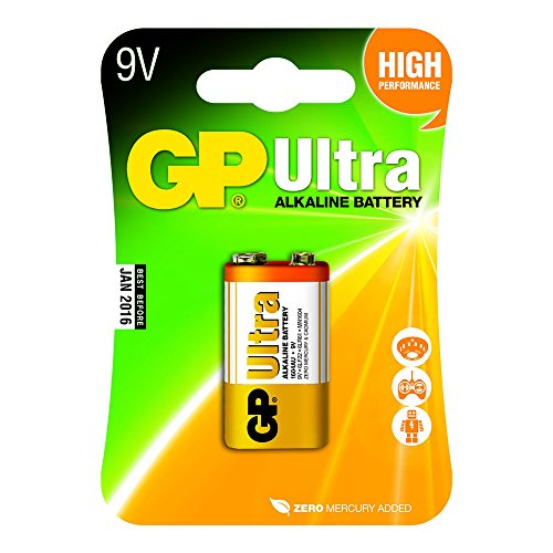 GP Alkaline Battery LR22 9v Ultra Pack 1 [GPB1018]