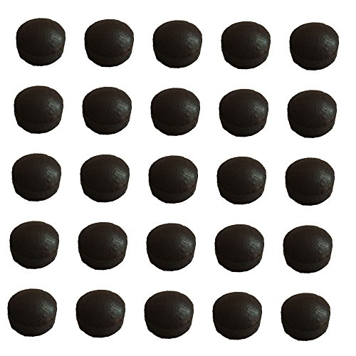 13 MM Le Pro Pool Cue Stick Tips - Set of 25