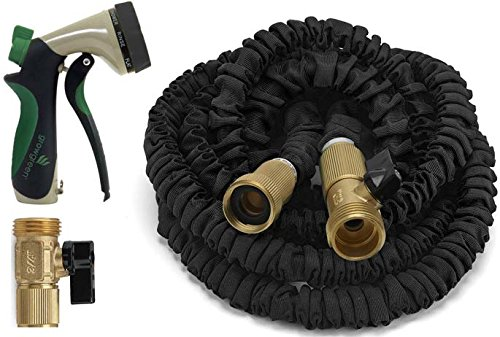 Expandable Garden Hose 100 Feet Strongest Expandable Hose