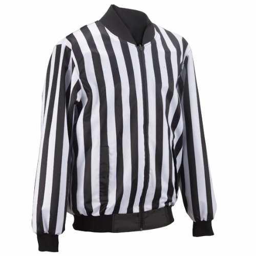 UPC 112201061053, Adams USA Smitty FBS120 Football Officials Jacket (Black/White, XX-Large)