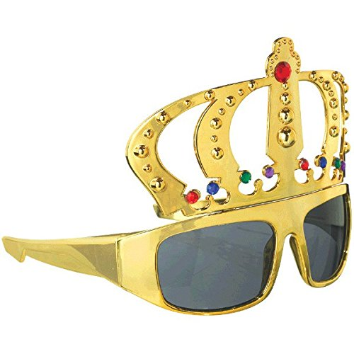 Stylish Birthday Party King Funshades Accessory, - Birthday Sunglasses