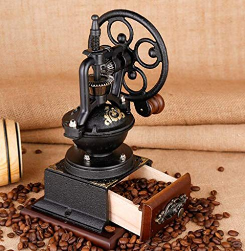 PsgWXL Hand-cranked Grinder Coffee Home Manual Coffee Machine Small Coffee Bean Grinder Grinder by PsgWXL (Image #3)
