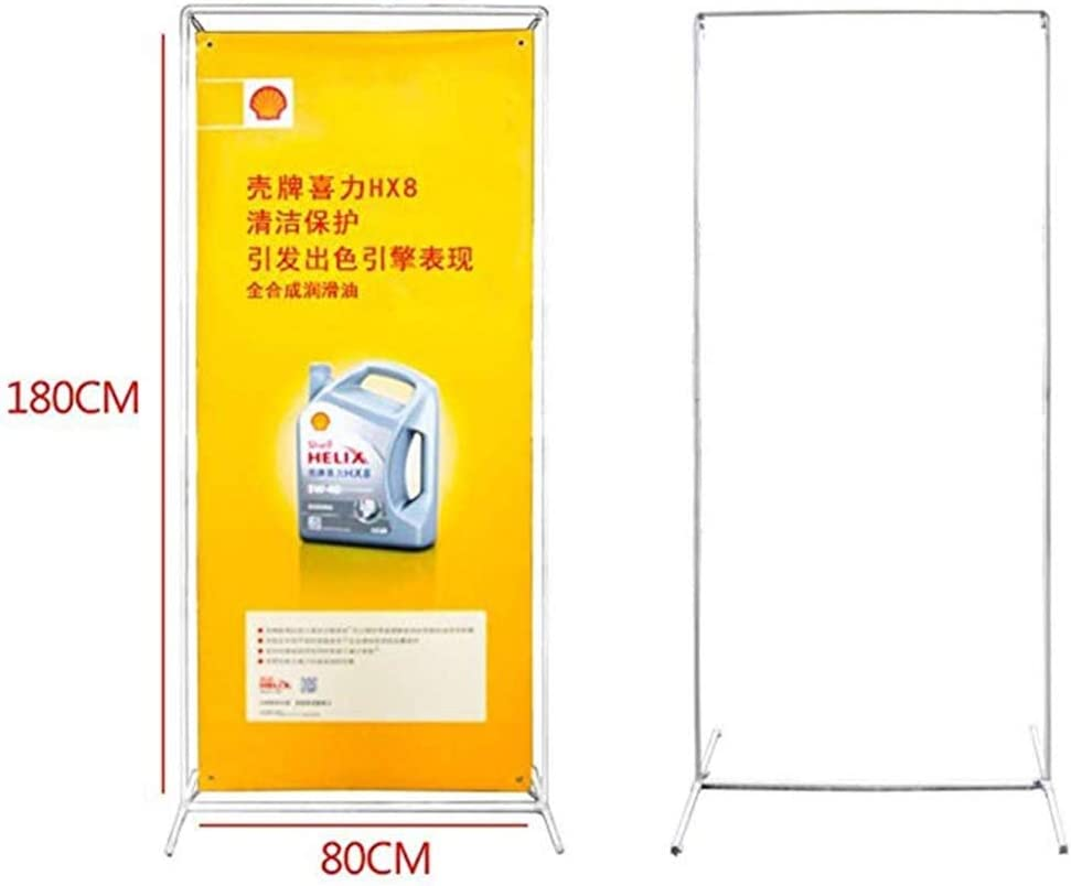 Simple Door Type Display Stand Poster Display Stand XIANWEI Advertising Display Stand Shopping Malls Various Occasions 80x Promotional Activities Advertising Sign Stand Suitable For Restaurants