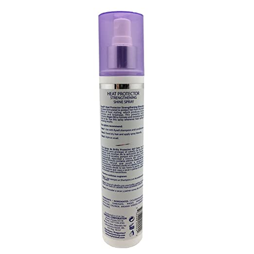 Amazon.com : Rysell Hair Care Shine Spray, Anti-Breakage, Dullness, Dryness. Contains Argan Oil to Hydrate and Revitalize Your Hair. 7.1 Fl Oz/202 ml.