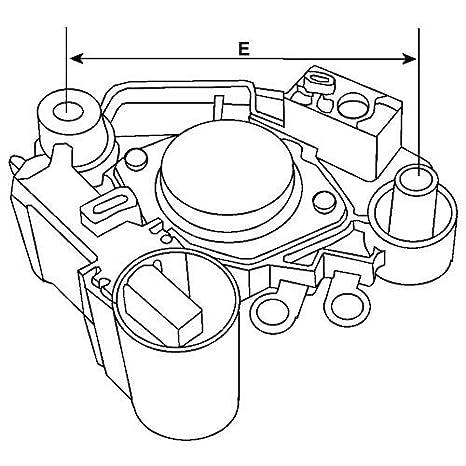 12v Magneti Marelli Alternator Voltage Regulator 236579 Vr F158