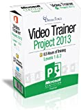 Project 2013 Training Videos - 8.5 Hours of Project 2013 training by Microsoft Office: Specialist, Expert and Master, and Microsoft Certified Trainer (MCT), Kirt Kershaw