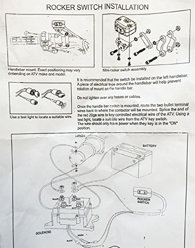 12v Rocker Switch Winch Wiring Diagram