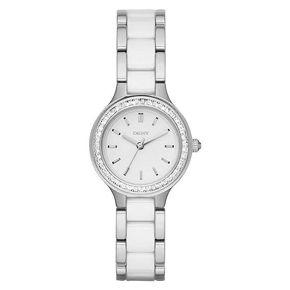DKNY Reloj Analogico para Mujer de Cuarzo con Correa en Acero Inoxidable NY2494