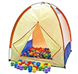 "Clearance Sale: Pretend Outdoors Camping Play Tent w/ 100 ""Phthalate Free"" Pit Balls & Carry Totes Picture"