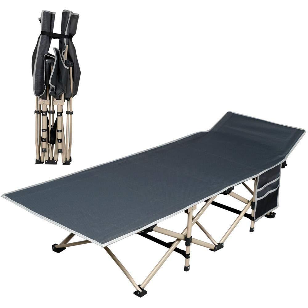Mpy-mpy Lit Pliant Canapé Bureau Paresseux Lit Siesta Simple Hôpital Portable Lit D'accompagnement Lit De Plage en Plein Air Lit De Camp  -