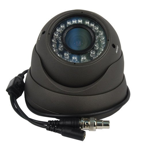 (Vandal-Resistant IR Day/Night High Resolution Color Dome Camera - 540 TV Lines)