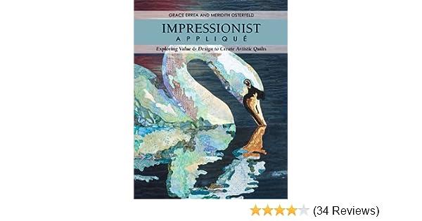 Impressionist applique exploring value design to create