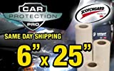 (US) 3M Clear Bra Paint Protection Bulk Film Roll 6-by-25-inches